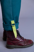 Load image into Gallery viewer, Aralia Teal  Utility Trousers