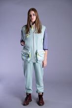 Load image into Gallery viewer, Mint Sleeveless Tracksuit