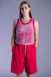 Dragonfruit Pink B-Ball Shorts