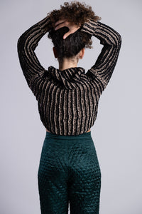 Chunky Knitted Rollneck Pullover