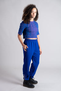 Night Blue Utility Trousers