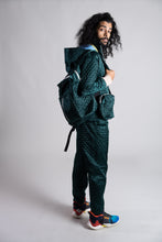 Load image into Gallery viewer, Merrillii Green Quilted Trousers