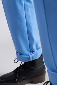 Morning Blue Utility Trousers