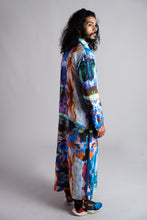 Load image into Gallery viewer, Tropical Nightlife Printed Dress