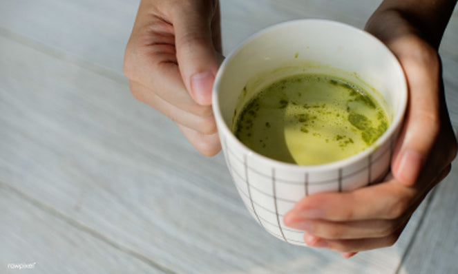 organic spice benefits, matcha green tea
