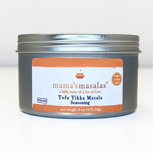 Tofu Tikka Masala Seasoning Tin Jars