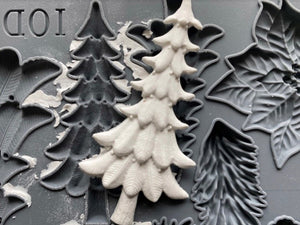 IOD Mould Boughs of Holly