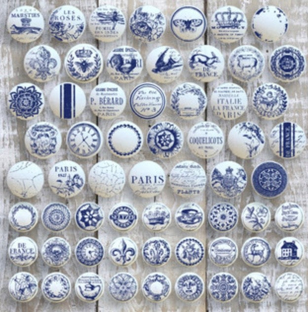 IOD Decor Stempel Knobs