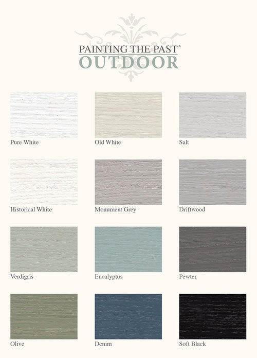 Outdoorfarbe Old White