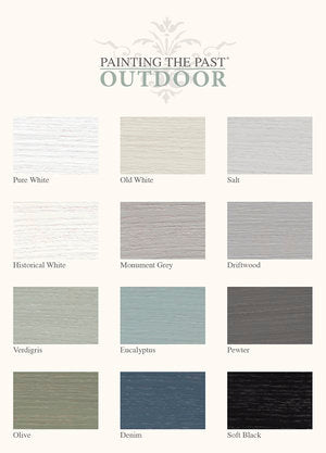 Outdoorfarbe Historical White