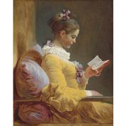 "Mint by Michelle ""Reverse Young Girl Reading"""