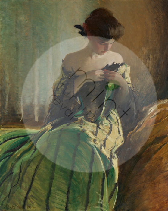 "Mint by Michelle ""Study in Black and Green"""