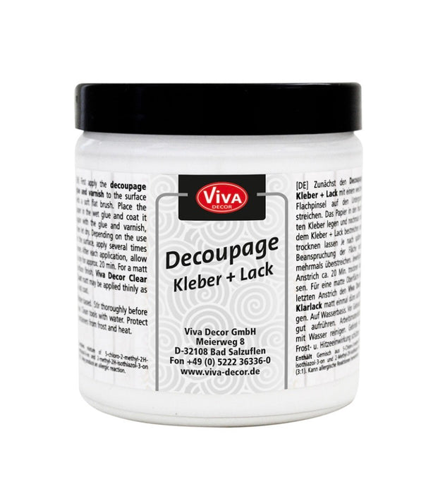 Viva Decor Decoupage Kleber & Lack 250ml