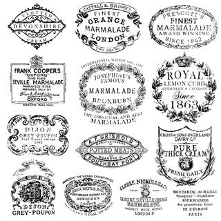 IOD Decor Stempel Crockery