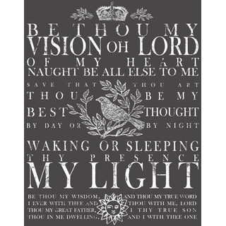 "IOD Decor Transfers ""Be Thou My Vision"" klein"