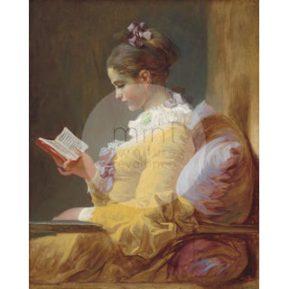 "Mint by Michelle ""Young Girl Reading"""