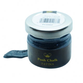 Posh Chalk Gilding Wax Aqua Blue Prussian