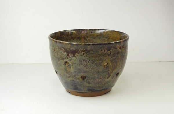 1025 Orchid Pot Hand Thrown Stoneware