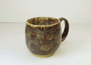 Coffee Mug Handmade Hand Thrown by White Horse Pottery