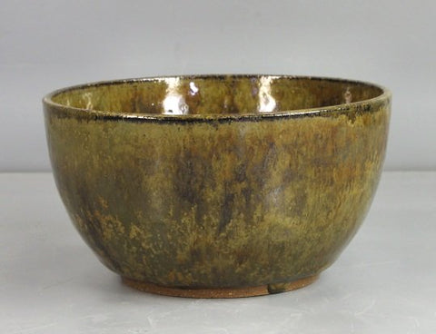 Hand Thrown Stoneware Bowl for Decoration by White Horse Pottery