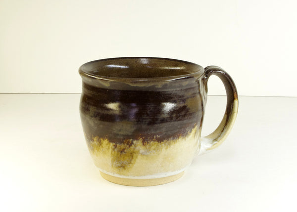 Coffee Tea Mug Hand Thrown Stoneware by White Horse Pottery