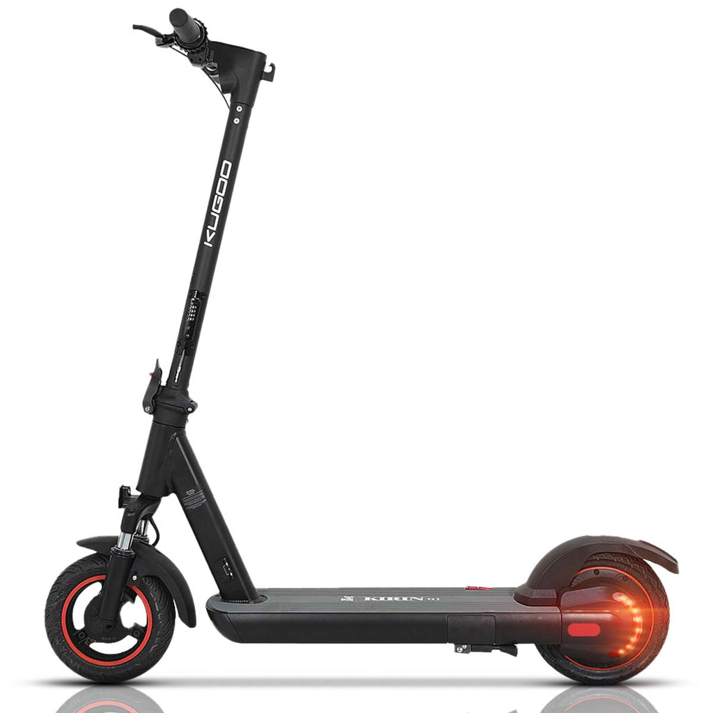 Electric Scooter for Adult, 36V 7.5Ah Battery, Single endurance up to 30KM, 350W Brushless Motor, Up to 30km/h, 8 Inch Honeycomb solid tire, 3 Speed Modes, Foldable E-Scooter Portable, Urbettter-Kugoo S1 Pro