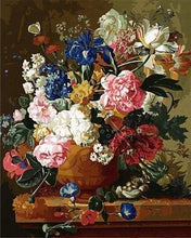 Load image into Gallery viewer, paint by numbers | All the Flowers | advanced flowers new arrivals | FiguredArt