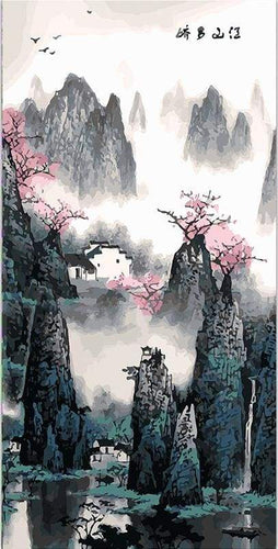 paint by numbers | China Landscape | advanced landscapes | FiguredArt