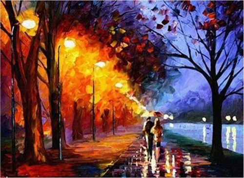 paint by numbers | Couple at the Lake | advanced romance | FiguredArt