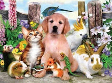 Load image into Gallery viewer, Diamond Painting | Diamond Painting - Animal Family | animals Diamond Painting Animals | FiguredArt