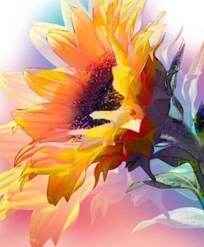 Diamond Painting | Diamond Painting - Beautiful Sunflower | Diamond Painting Flowers flowers | FiguredArt