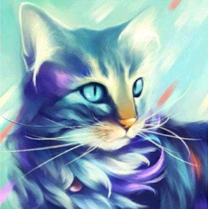Diamond Painting | Diamond Painting - Cat Design | animals cats Diamond Painting Animals | FiguredArt