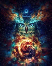 Load image into Gallery viewer, Diamond Painting | Diamond Painting - Celestial Owl | animals Diamond Painting Animals owls | FiguredArt