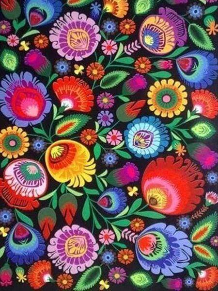 Diamond Painting | Diamond Painting - Colorful Flowers | Diamond Painting Flowers flowers | FiguredArt
