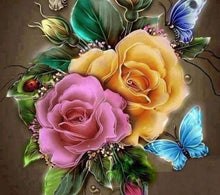 Load image into Gallery viewer, Diamond Painting | Diamond Painting - Colorful Roses | Diamond Painting Flowers flowers | FiguredArt