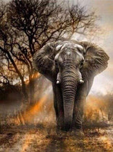 Load image into Gallery viewer, Diamond Painting | Diamond Painting - Elephant in the Savanna | animals Diamond Painting Animals elephants | FiguredArt