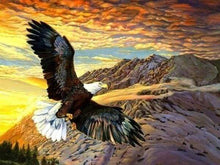 Load image into Gallery viewer, Diamond Painting | Diamond Painting - Flight of the Eagle | animals Diamond Painting Animals eagles | FiguredArt