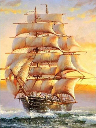 Diamond Painting | Diamond Painting - Galion | Diamond Painting Ships ships | FiguredArt
