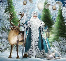 Load image into Gallery viewer, Diamond Painting | Diamond Painting - King of the Forest | animals Diamond Painting Animals winter | FiguredArt