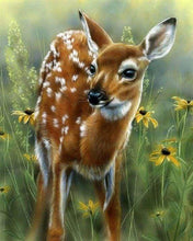 Load image into Gallery viewer, Diamond Painting | Diamond Painting - Little Fawn | animals Diamond Painting Animals | FiguredArt