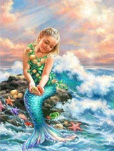 Load image into Gallery viewer, Diamond Painting | Diamond Painting - Little Mermaid | Diamond Painting Romance romance | FiguredArt