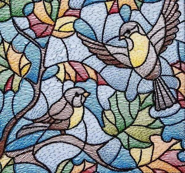 Diamond Painting | Diamond Painting - Mosaic Bird | animals birds Diamond Painting Animals | FiguredArt