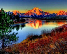 Load image into Gallery viewer, Diamond Painting | Diamond Painting - Mountain Lake | Diamond Painting Landscapes landscapes mountains | FiguredArt