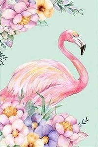Diamond Painting | Diamond Painting - Pink Flamingo | animals Diamond Painting Animals flamingos | FiguredArt