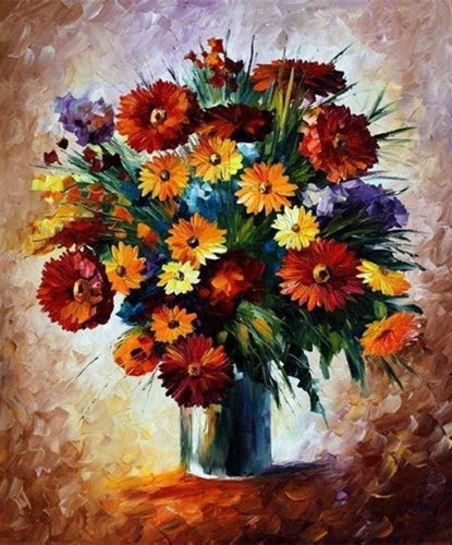 Diamond Painting | Diamond Painting - Pretty and Bright Bouquet | Diamond Painting Flowers flowers | FiguredArt