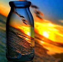 Load image into Gallery viewer, Diamond Painting | Diamond Painting - Reflections in a Bottle | Diamond Painting Landscapes landscapes | FiguredArt