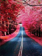 Load image into Gallery viewer, Diamond Painting | Diamond Painting - Road in Autumn | Diamond Painting Landscapes landscapes | FiguredArt