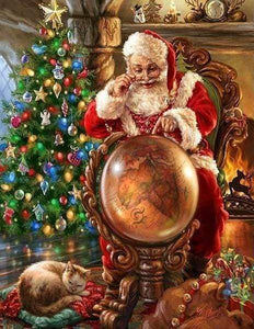 Diamond Painting | Diamond Painting - Santa Claus | christmas Diamond Painting Religion religion | FiguredArt