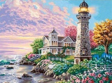 Load image into Gallery viewer, Diamond Painting | Diamond Painting - Small Lighthouse | Diamond Painting Landscapes landscapes | FiguredArt