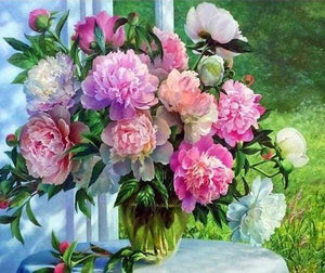 Diamond Painting | Diamond Painting - Spring Flowers | Diamond Painting Flowers flowers | FiguredArt